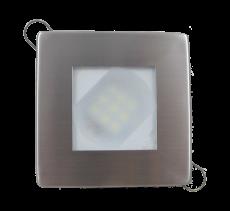 Luminária Quadrada Inox Escovado para site