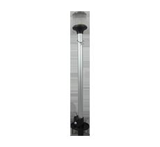 lente de mastro lente raiada com inox p site