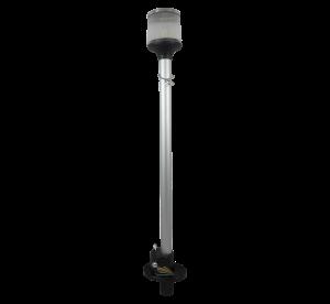 luz de alcançado lente raiada com inox com marca d'água p site