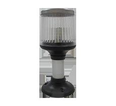 luz de top lente raiada com inox p site